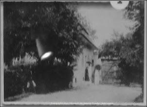 Photo: Casa Dr. Ioan Ratiu - inainte de anul 1945 -  imagine din curte - sursa Muzeul de Istorie din Turda - 2015.10.13