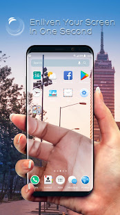 App Real Transparent Launcher Screen & Background APK for Windows Phone