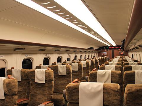 九州新幹線「さくら569号」 N700系7000番台 5号車車内