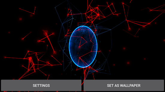 Abstract Particles Wallpaper Screenshot