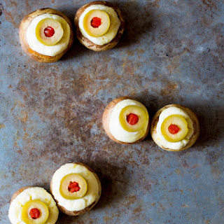 Stuffed Mushroom Eyeballs