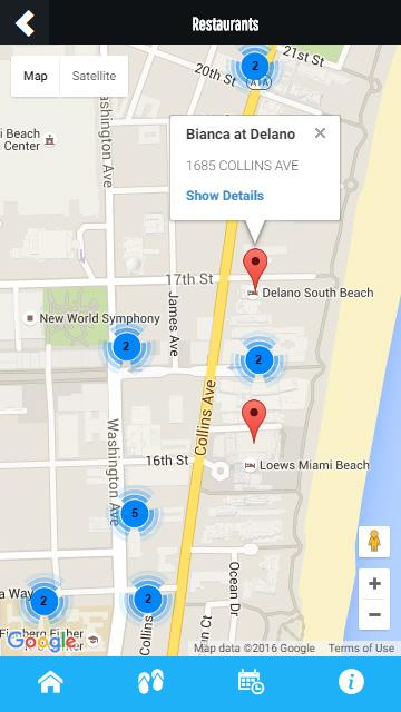 Miami Beach Information- screenshot
