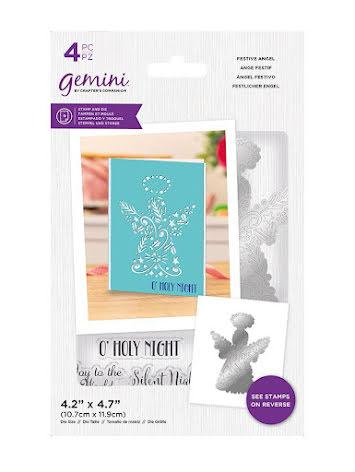 Gemini Stamp & Die - Festive Angel