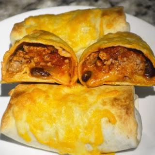Pork and Bean Burritos Recipe