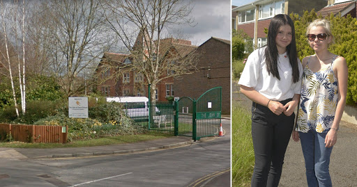 """Teacher 'told girl, 14, her trousers were """"too tight for her big legs""""'"""