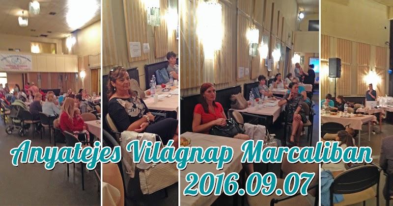 Anyatejes Világnap Marcaliban 2016.09.07