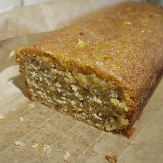Mary Berry's Crunchy Orange Syrup Loaf.