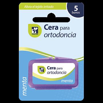 Cera Dental Farmatodo   Ortodoncia Sabor Menta X1Und.