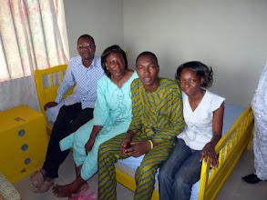 Photo: cette chambre inaugurée par la famille