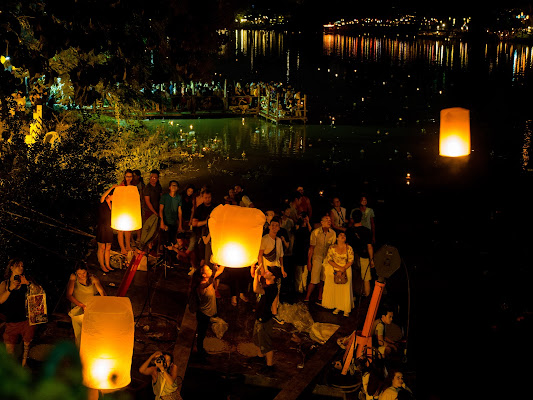 Festa delle lanterne. di Fabien