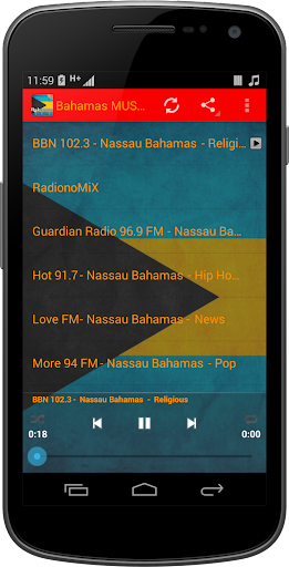 Bahamas MUSIC Radio