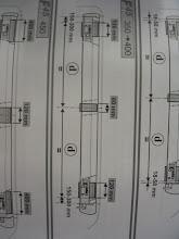 Photo: Sigo las instrucciones de montaje, respetando las separaciones que marcan