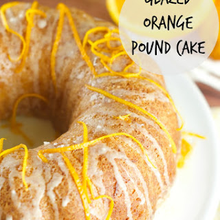 Glazed Orange Bundt Cake Recipe