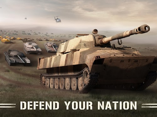 Screenshot 1 War Machines: Free Multiplayer Tank Shooting Games 4.9.0 APK MOD