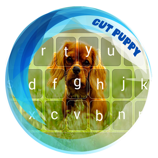 Beautiful Puppy Keyboard Theme