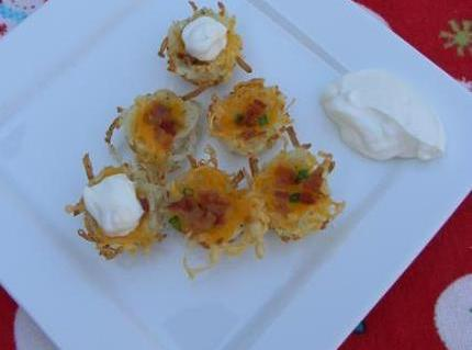 Baked Potato Bites Recipe