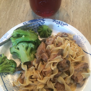 Crockpot Pork Chop Stroganoff Recipe