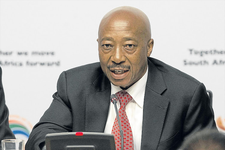 Suspended SA Revenue Services commissioner Tom Moyane.