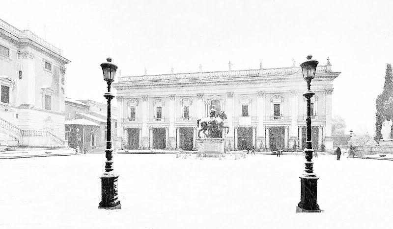 Neve in Campidoglio di davide fantasia