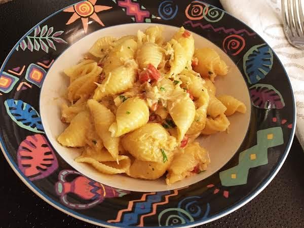 Lady Athena's Rockin' Crab Shell Pasta Recipe