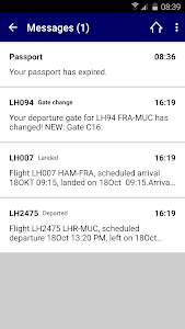 Lufthansa screenshot 3
