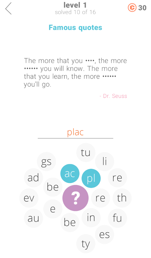22 Clues: Word Game- screenshot