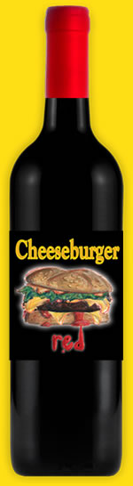 Logo for Cheeseburger Red