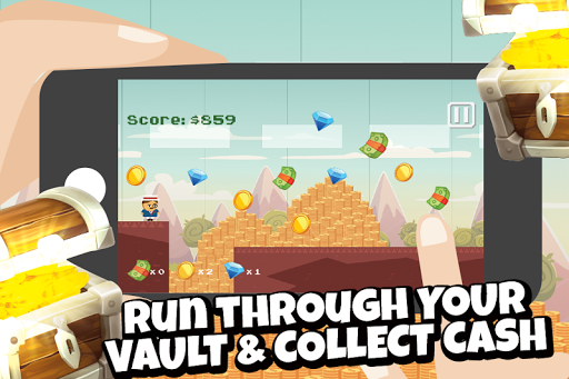 Billionaire Runner: Cash Grab