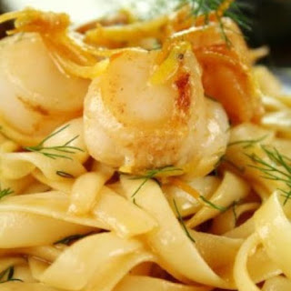 Seafood Pasta in Lemon Butter Sauce