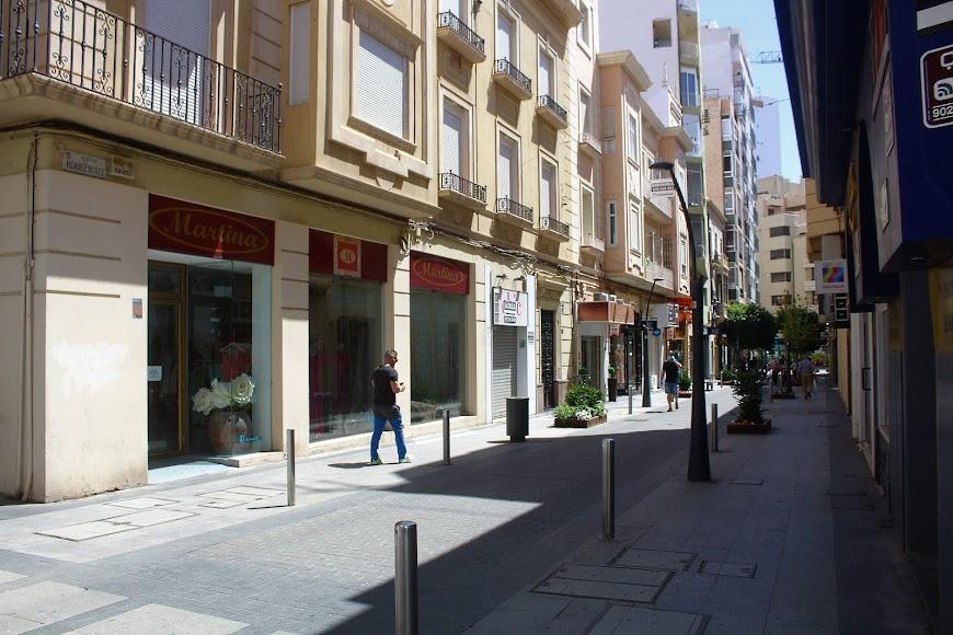Calle Méndez Núñez.