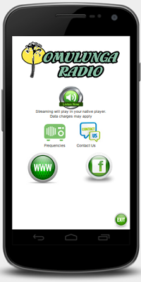 Omulunga Radio Namibia - screenshot