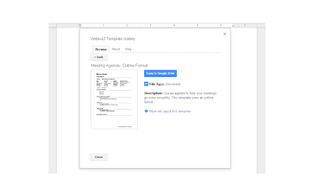 Template Gallery for Docs - G Suite Marketplace