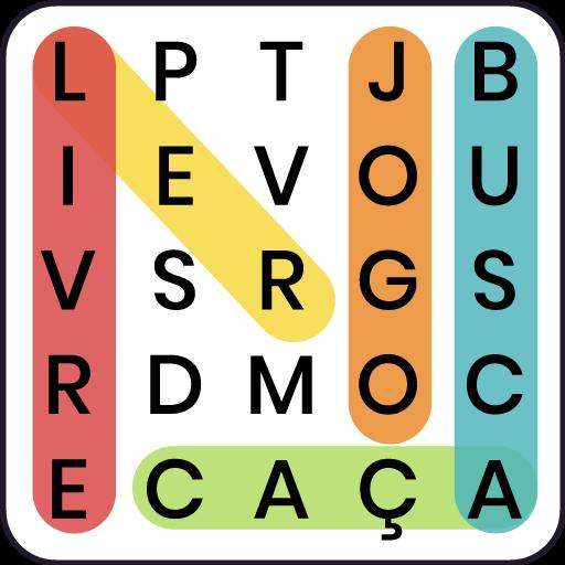 Caça palavras - conecte a letras gratuitamente