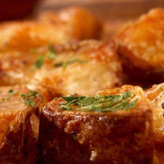 Super-crisp Roasted Potatoes.