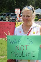 Photo: War is Not Prolife