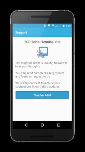TCP Telnet Terminal Pro 8