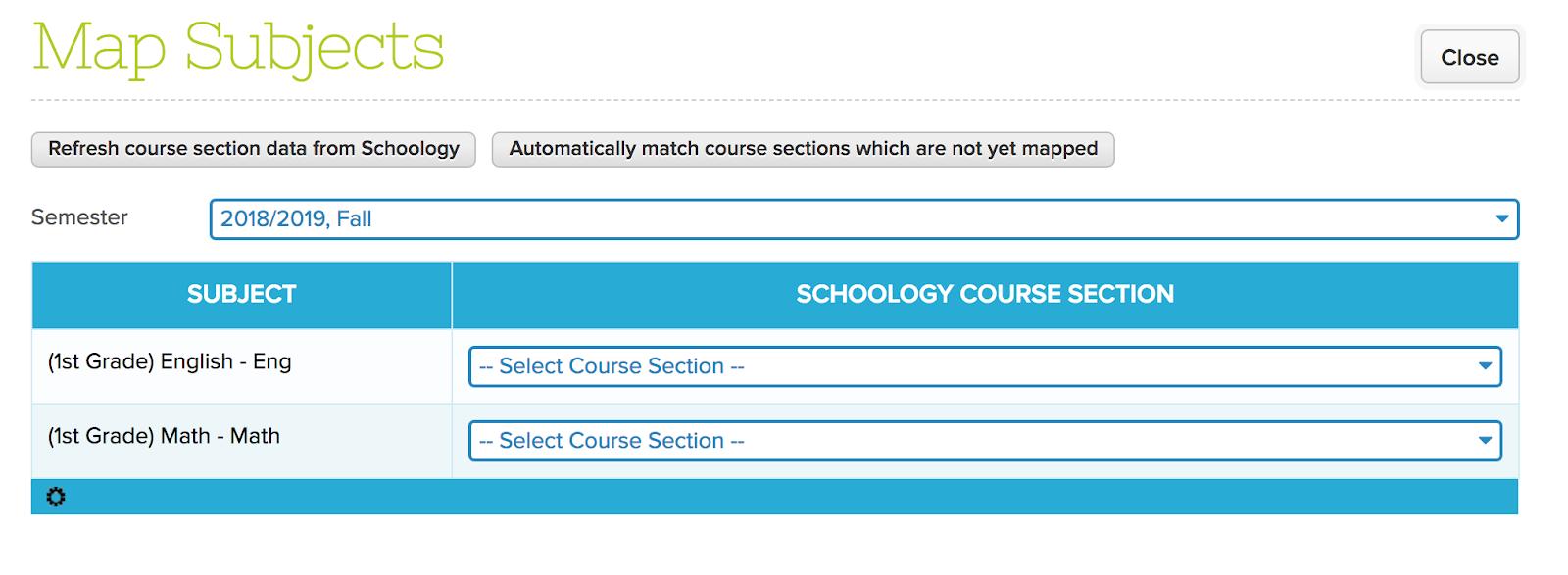 QuickSchools Integration to Schoology – QuickSchools Support
