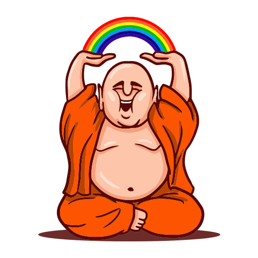 Funny Buddha Stickers for WhatsApp, WAStickerApps