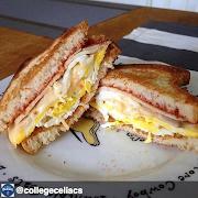 Eggs, Turkey & Cheese Sandwich