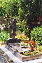 Photo: Новая могила Виктора Некрасова, 16 июня 1996