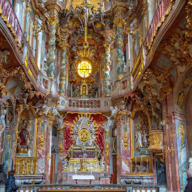 Asamkirche church, Munich by -. Phœnix .- - Buildings & Architecture Places of Worship ( munich, church, asamkirche,  )