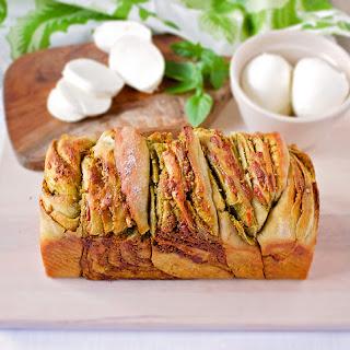 Pistachio Pesto Sourdough Bread.