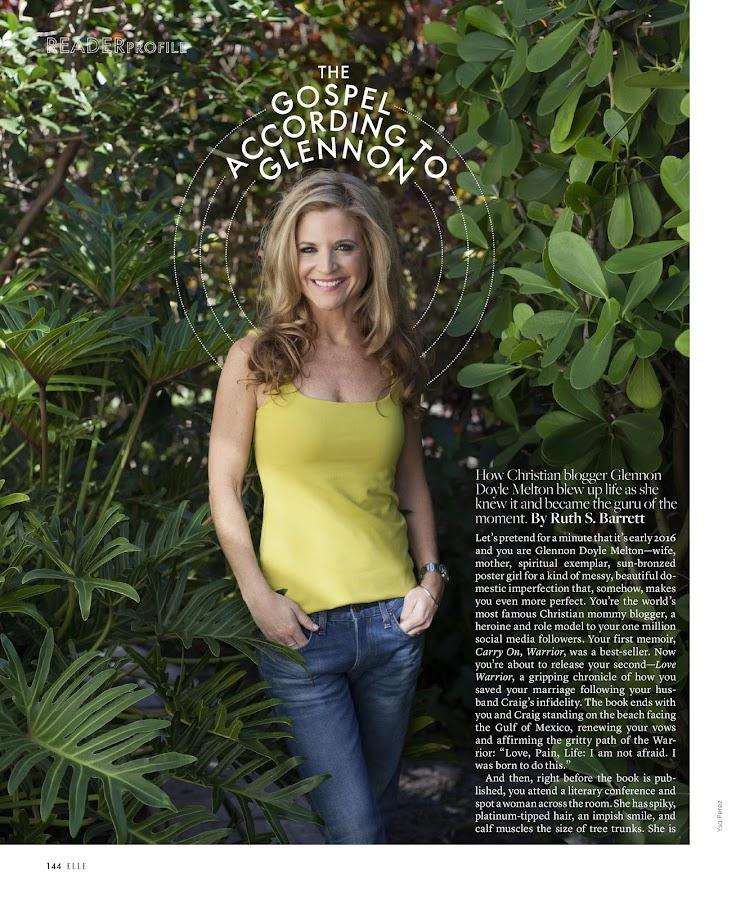 ELLE Magazine- screenshot