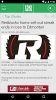 Screenshot of 1310 News