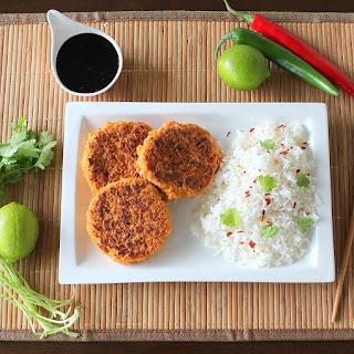Thai Prawn and Fish Cakes.