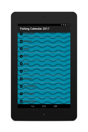 Fishing Calendar 2017 app (apk) free download for Android/PC/Windows screenshot