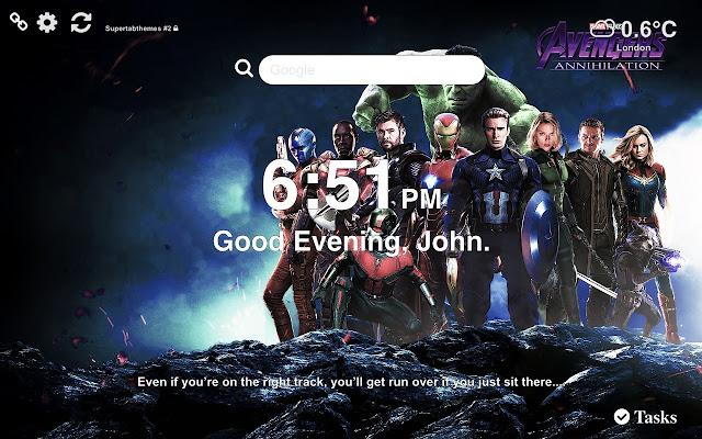 Avengers: Endgame Wallpaper 2019 Tab Theme