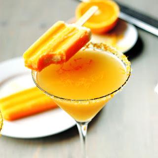 Orange Creamcicle Martini.