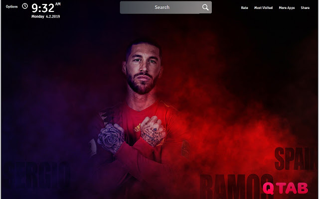 Sergio Ramos Wallpapers FullHD New Tab