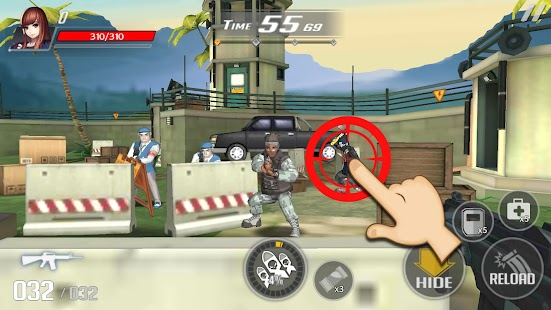 Over Touch : Gun Shooting Screenshot